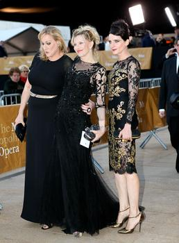 Courtney Love arrives at the Metropolitan Opera on opening night