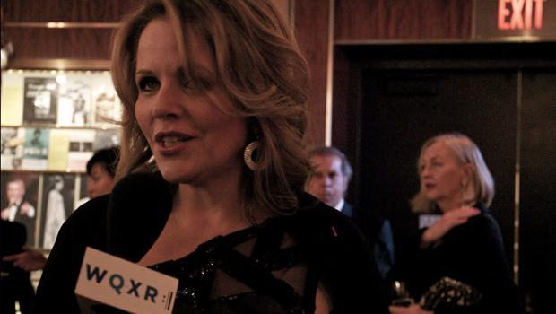 Renée Fleming talks with WQXR's Jeff Spurgeon at the Carnegie Hall season opener gala on Oct. 3, 2012.