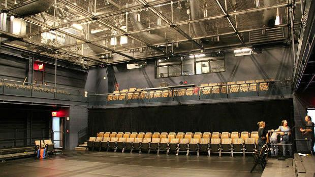 The Fishman Space the BAM Richard B. Fisher Building, with seating for up to 250 patrons
