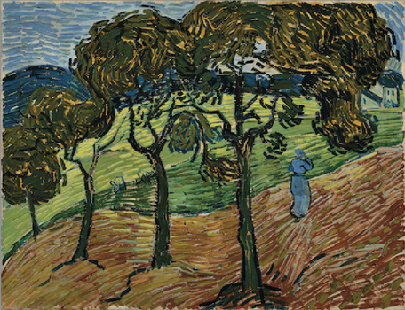 Vincent van Gogh, <em>Landscape with Figures</em>, 1889,