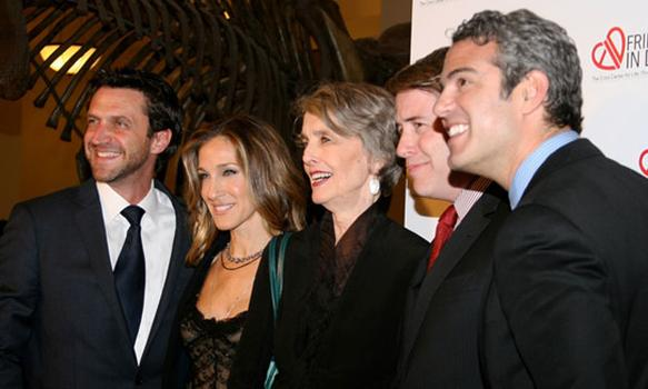 Sarah Jessica Parker was one of the hosts of the Friends In Deed benefits at the Natural History Museum on Monday night. The  non-profit crisis center for life-threatening illness founded in 1991.