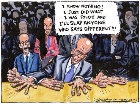 """""""Murdoch Slap"""" July, 2011"""