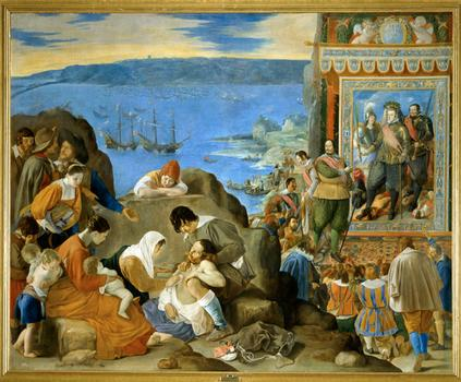 <em>The Recapture of Bahia in Brazil, c. 1635</em>