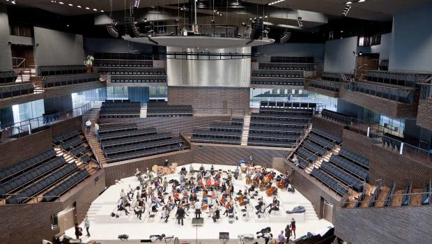 The Helsinki Music Center, interior