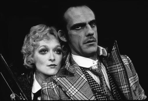 Meryl Streep and Christopher Lloyd in Happy End, Kurt Weill and bertolt Brecht/Chelsea Theater Center, 1977. Photo: Martha Swope.