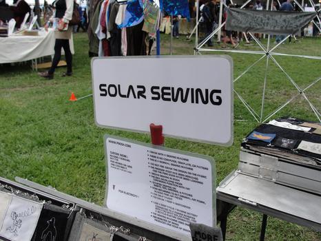 Solar Sewing