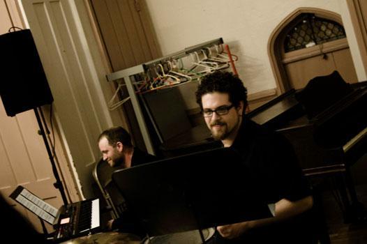 Composer David Little of Newspeak