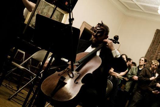 Cellist Kevin McFarland
