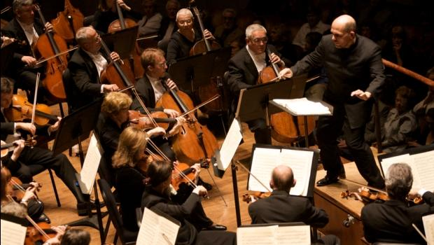 Music Director Jaap van Zweden conducts the Dallas Symphony Orchestra