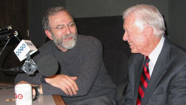 President Jimmy Carter and Leonard Lopate (2004)