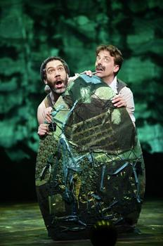 Kevin Del Aguila and Christian Borle