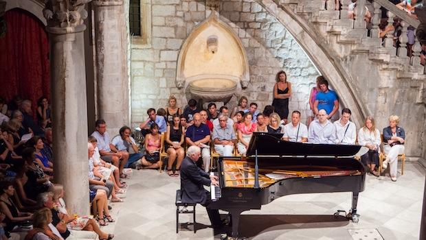 Daniel Barenboim performs at the Dubrovnik Festival