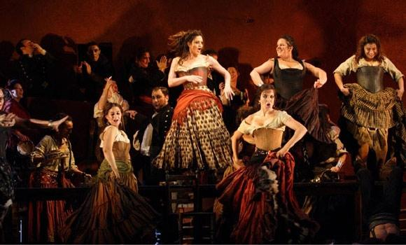 Carmen at The Royal Opera House, London (2008), directed by Francesca Zambello