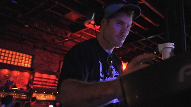 Andy Butler (Hercules And The Love Affair) performed a DJ set at Brooklyn Bowl in Williamsburg on June 12.