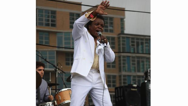 Lee Fields & The Expressions perform at the Williamsburg Waterfront on August 15.