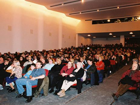 The audience at the live event.