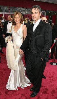 """Marco Beltrami and Buck Sanders composed the score for """"The Hurt Locker."""" Beltrami and his wife attended the 80th Annual Academy Awards."""