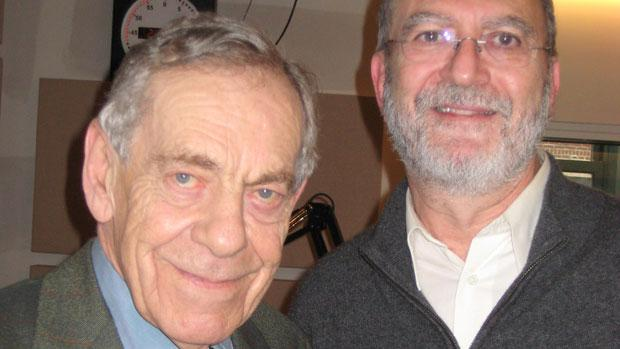Morley Safer and Leonard Lopate (2009)