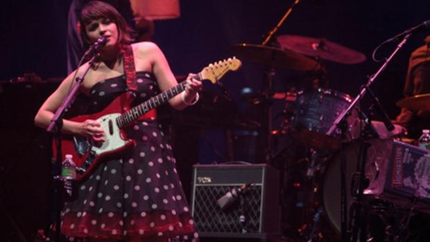 Norah Jones performed at the Prospect Park Bandshell on June 9.