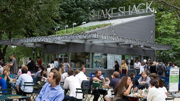 Benzel had to eat at the Shake Shack in Madison Square Park before leaving NYC