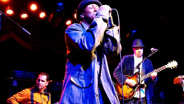 Soulive performed with Nigel Hall and Charlie Hunter at Brooklyn Bowl in Williamsburg on March 9.