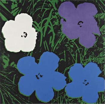 "Andy Warhol's ""Flowers,"" which he finished in 1964, is expected to go for up to $12 million at Phillips de Pury."