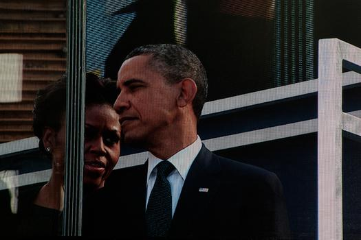 President Barack Obama and first lady Michelle Obama attended the 10th anniversary ceremony at ground zero