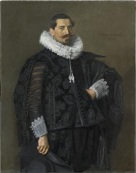 Frans Hals (1581/1585–1666). Portrait of Jacob Olycan (1596–1638), 1625.