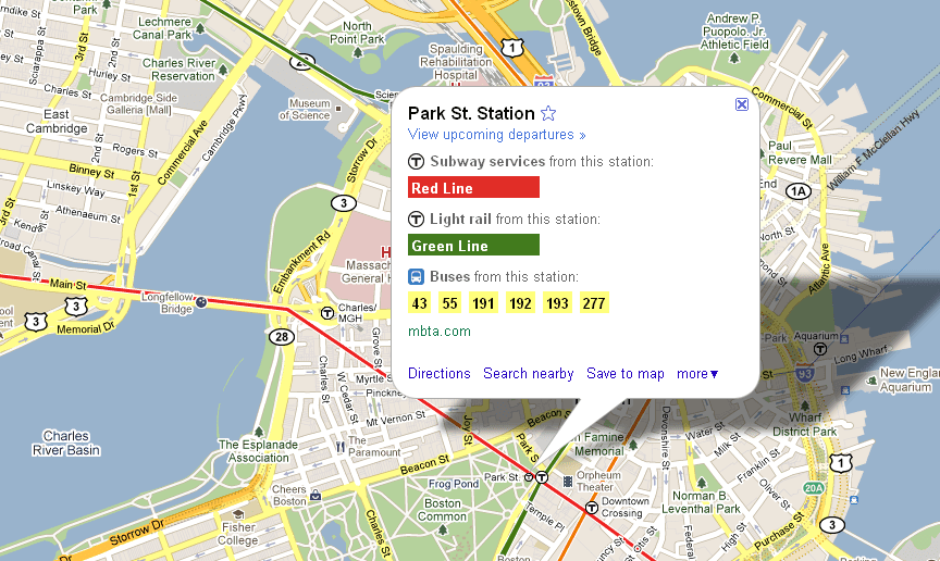 Google Adds Real Time Transit Info To Maps  WNYC