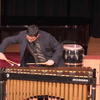 Percussionist Manuel Alejandro Carro is giving of some major Debussy vibes