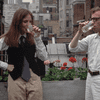 Woody Allen and Diane Keaton in 'Annie Hall'