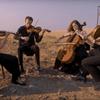 The Ariel Quartet plays a Brahms chamber piece under Montana's open skies.