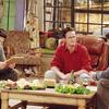 L to R: David Schwimmer, Matthew Perry, and Matt LeBlanc in Friends
