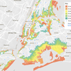WNYC's Hurricane Evacuation Zone map