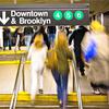 Inside the New York City subway