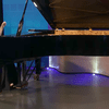 Pianist Yun Wei in The Greene Space.
