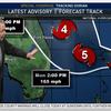 WTVJ Chief Meteorologist John Morales monitors Hurricane Dorian on Sunday, Sept. 1.