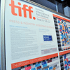 A view of the TIFF schedule prior to the 2012 Toronto International Film Festival on September 5, 2012 in Toronto, Canada