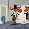 Still from The Rocky and Bullwinkle Show