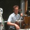 Ben Sollee in the WABE studios