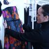 Fashion designer Isabel Toledo in her Manhattan Studio