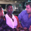 (Left to right) Madison T. Shockley III, Issa Rae, and Lyman Johnson in 'The Mis-Adventures of Awkward Black Girl'