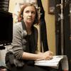 Lena Dunham on the set of Girls