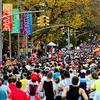Marathoners in Brooklyn in 2009.