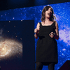 """Janna Levin presents her TED Talk, """"The Sound the Universe Makes"""" in 2011"""