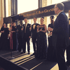 Winners of the National Council Auditions with Metropolitan Opera general manager Peter Gelb