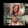 A Zoom screenshot of four people smiling: Anna Sale, Tayari Jones, John Paul Brammer, and Tara Ilsley.