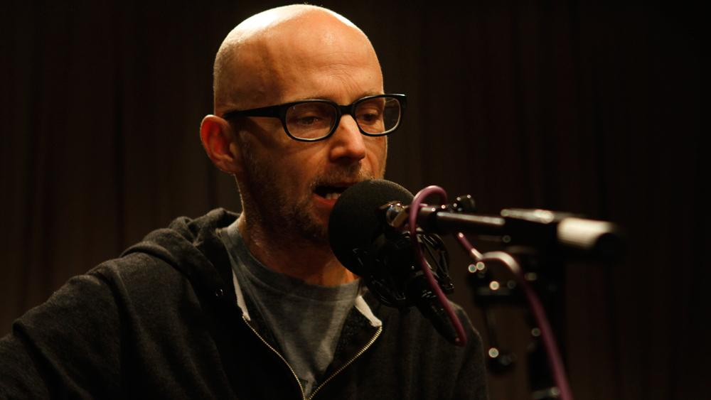 moby plays along with others on innocents soundcheck wnyc