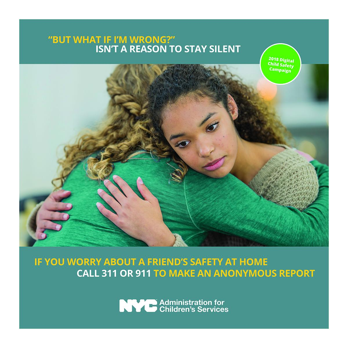 Child Safety Ad Campaign Sparks Concerns Wnyc News Wnyc