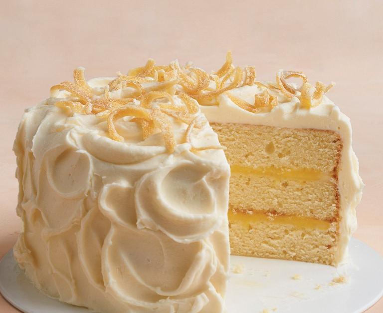 Martha Stewart Tender Lemon Cake